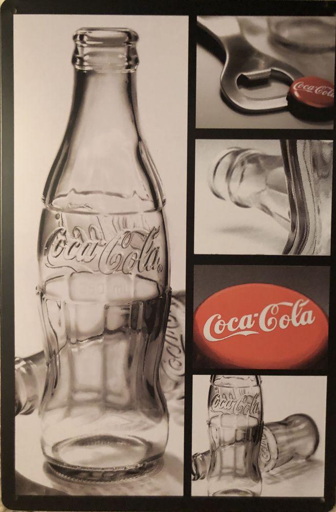 Plechová cedule Coca-cola Otvírák