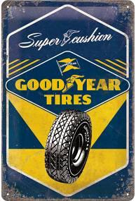 Plechová cedule Goood year tires