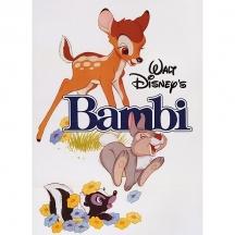 Plechový magnet Bambi Disney