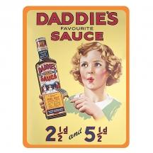 Plechový magnet Daddies sause - Heinz