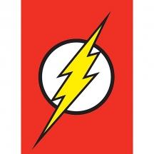 Plechový magnet Justice league - Liga spravedlivých Bazinga