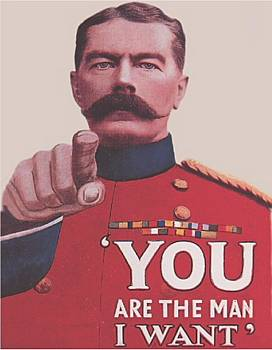 Plechová cedule I want you! - Chci tě! You are The man