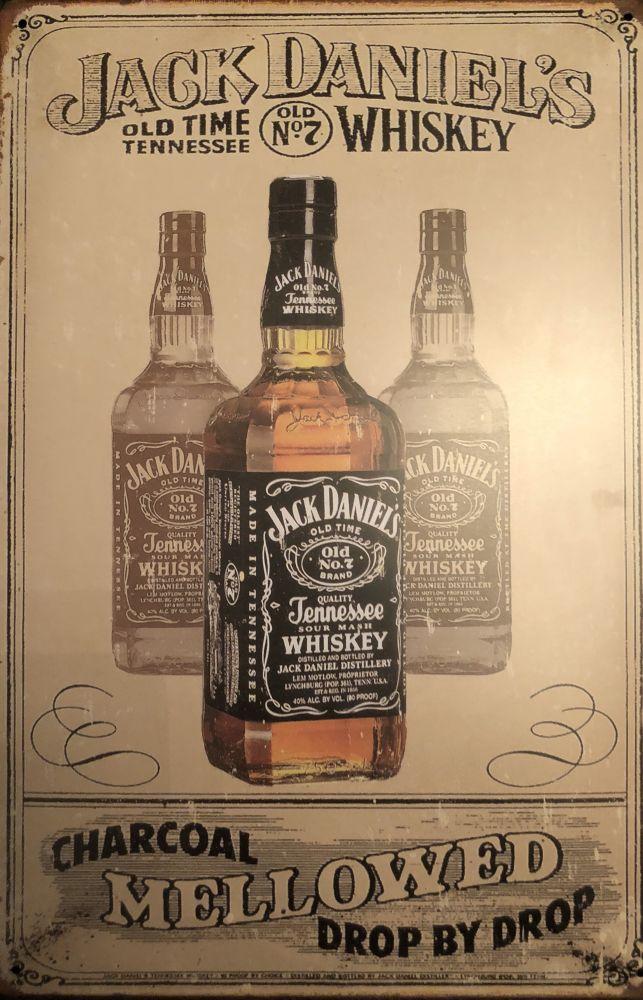 Plechová cedule Jack Daniels Mellowed
