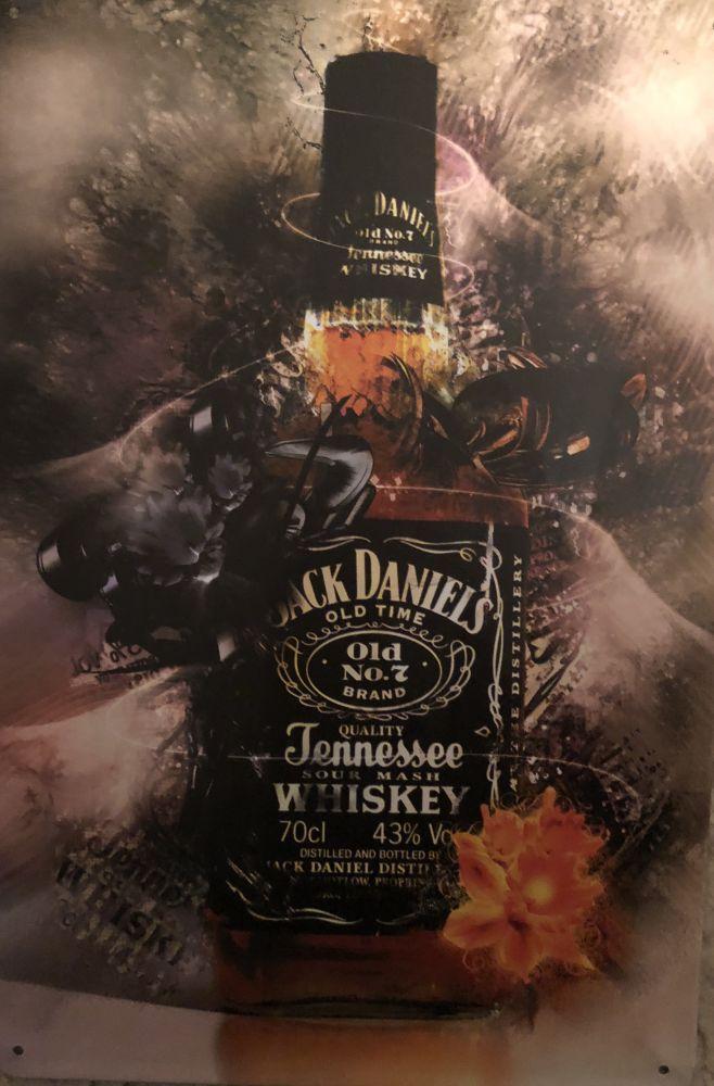 Plechová cedule Jack Daniels Narcis