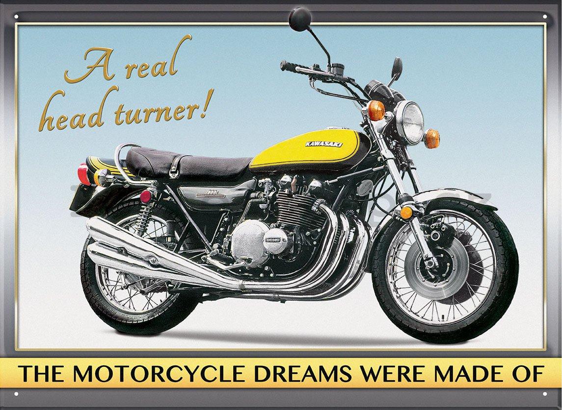 Plechová cedule motorka Kawasaki Z1