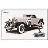 Plechová cedulka auto Rolls - Royce Phantom bílá
