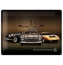 Plechová cedule Mercedes Auta