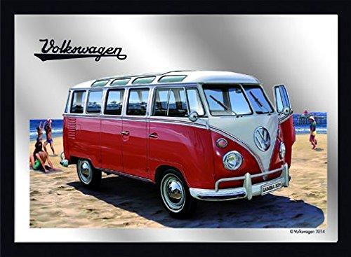 Magnet na lednici Volkswagen Samba zrcadlový