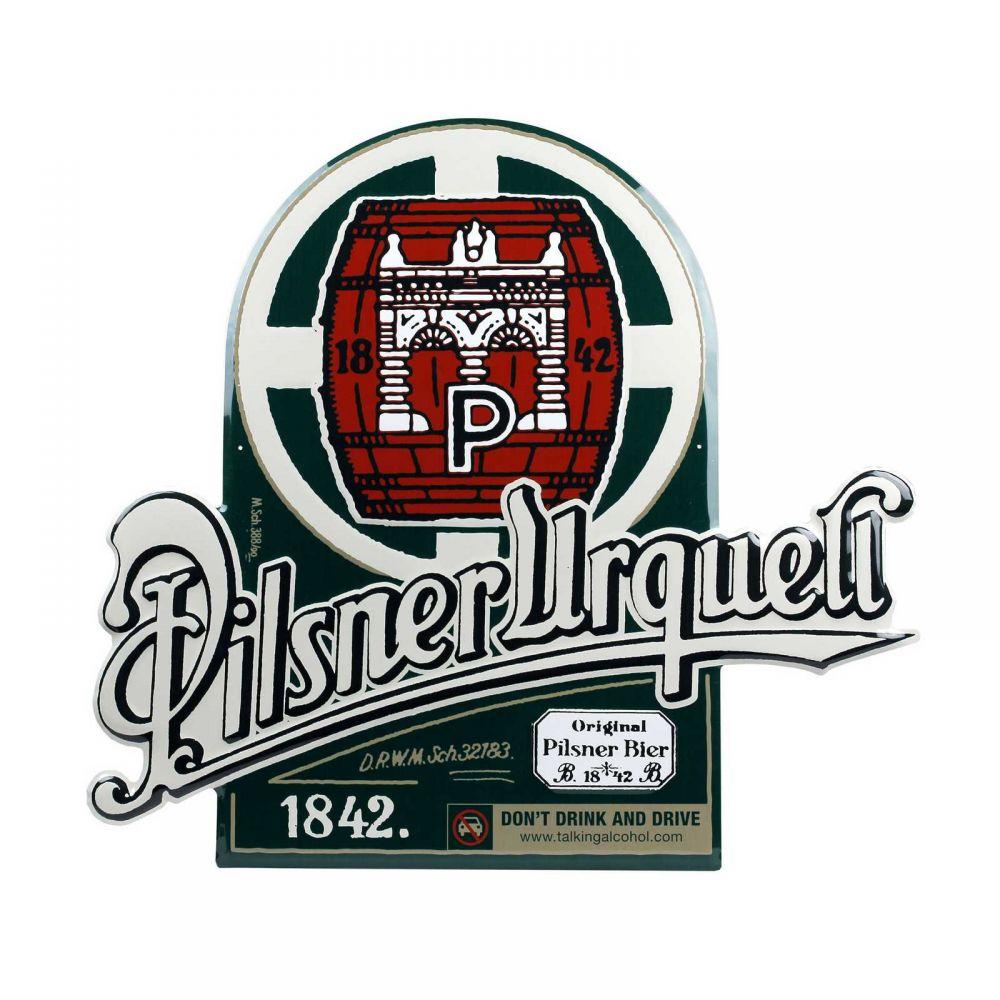 Originální plechová cedule Pilsner Urquell Original Sud