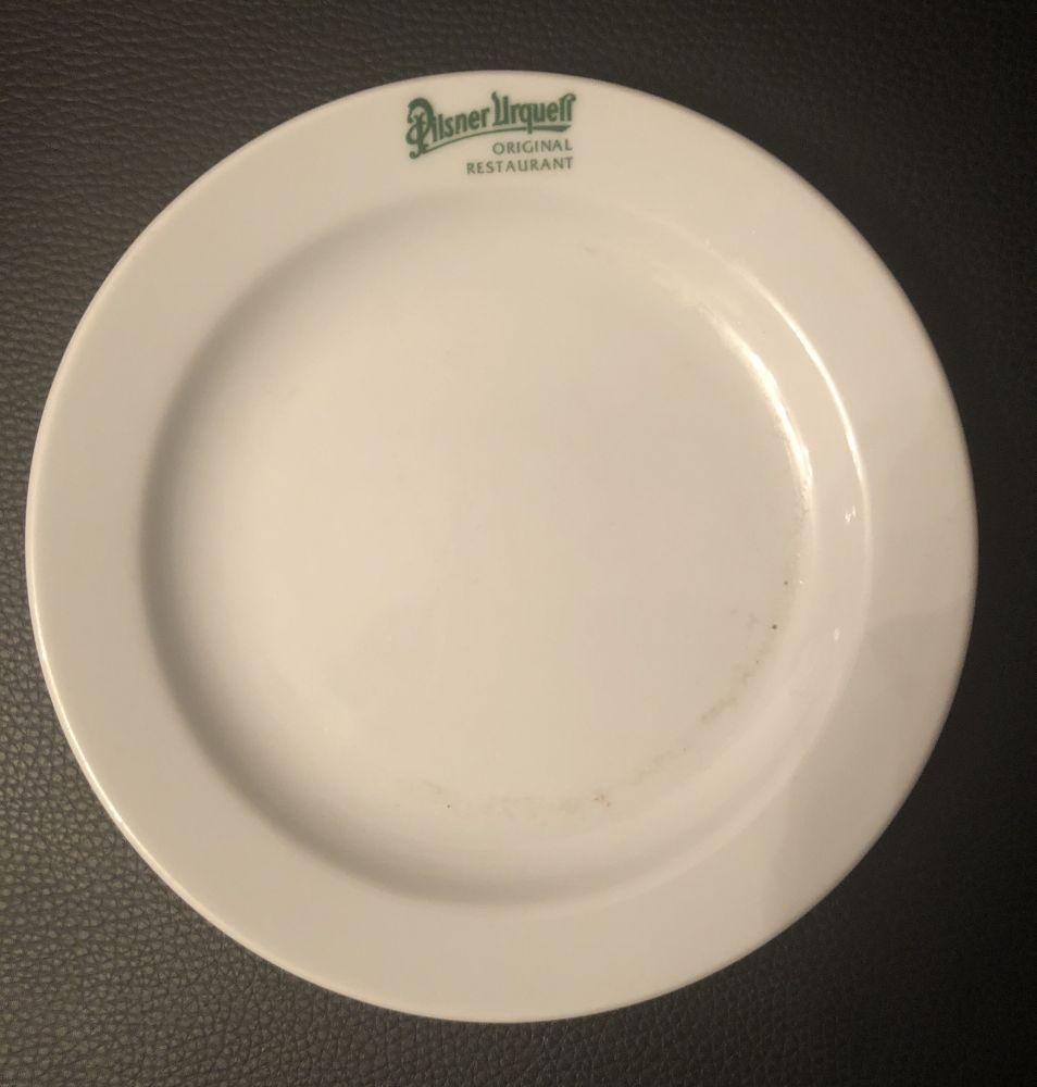 Porcelánový talířek Pilsner Urquell