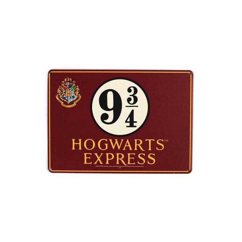 Plechová cedule Harry Potter Platform