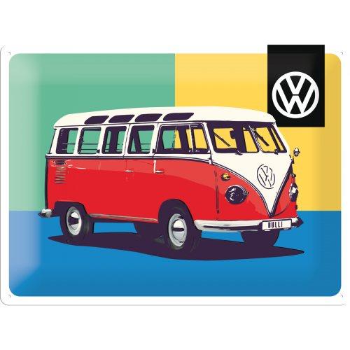Plechová cedule VW Kafer and Bus Volkswagen