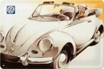 Plechová cedule VW brouk