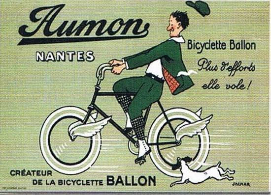 Plechová cedule Aumon Nantes kolo