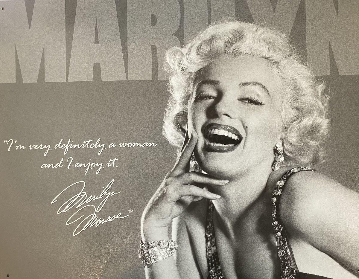 Plechová cedule Marilyn Monroe I'm very