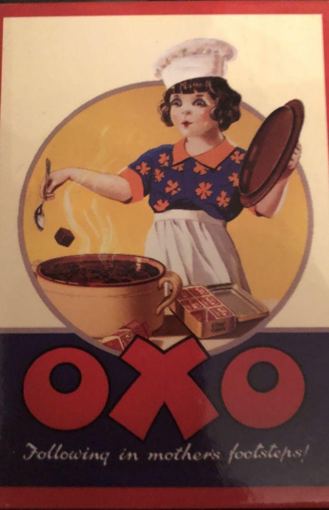 Magnet na ledničku Oxo - Following in mothers použitý