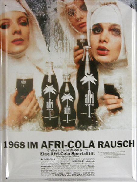 Plechová cedule Afri-cola