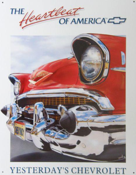 Plechová cedule Chevrolet