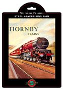 Plechová cedule vlak Hornby Train