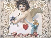 Plechová cedule Andělíček l - To me love