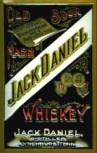 Plechová cedule Jack Daniel
