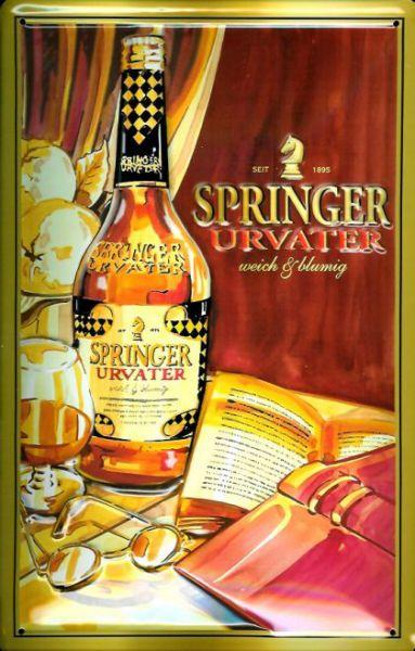 Plechová cedule Springer Urvater