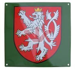 Smaltovaná cedule Malý státní znak