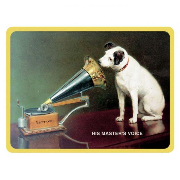 Magnet na ledničku His master's voice