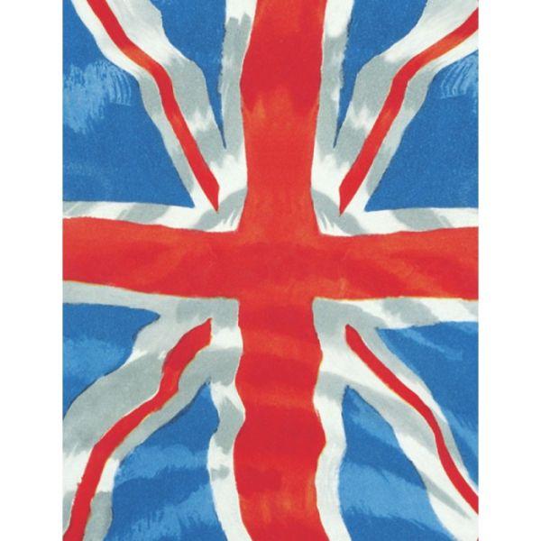 Plechová cedule Jack Union - vlajka Anglie světlá