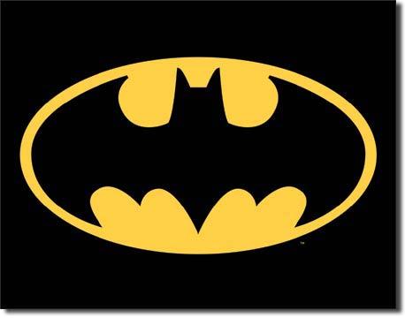 Plechová retro cedule Batman
