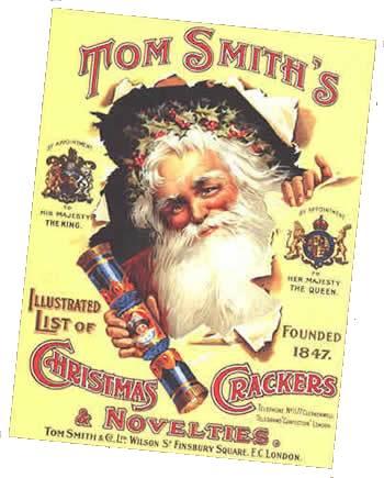 Plechová cedule vánoční sušenky Tom Smiths