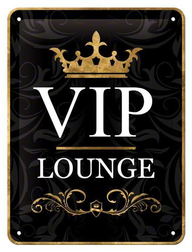 Plechová cedule VIP Lounge