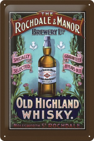 Magnet na ledničku Old highland whisky