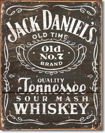 Plechová cedule Jack Daniels Old 7 retro