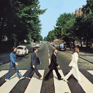 Plechová cedule The Beatles Abbey Road