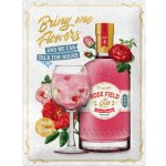 Plechová cedule Gin and Tonic Rose field